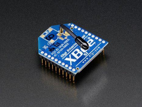 XBee Modul - Series 1 - 1mW vezeték antennával - XB24-AWI-001