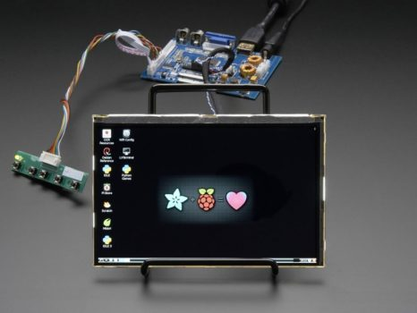 "7"" Display & Audio 1280x800 IPS - HDMI/VGA/NTSC/PAL"