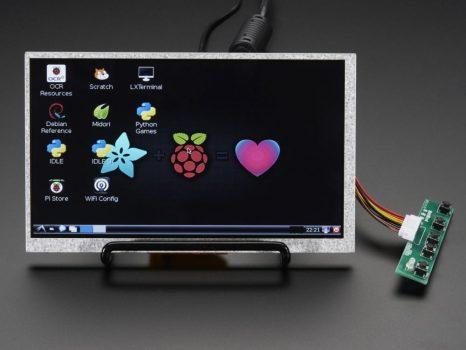 "7"" Display 800x480 - HDMI/VGA/NTSC/PAL"