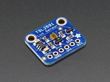 TSL2591 Magas dinamika tartományú digitális fényerő / lux / fényérzékelő szenzor I2C interfésszel
