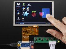 """5"""" Display 800x480 Érintőpanellel - HDMI bemenet"""