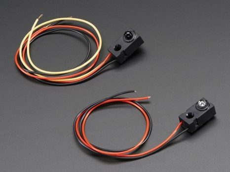 Infra fénysorompó - 5mm LED