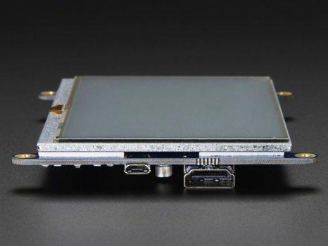 """HDMI 5"""" 800x480 érintőképernyő (Backpack)"""