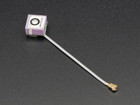 Passzív GPS Antenna uFL - 9mm x 9mm 2 dBi erősítés