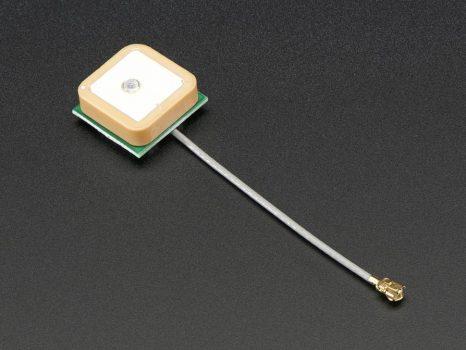 Passzív GPS Antenna uFL - 15mm x 15mm 1 dBi erősítés