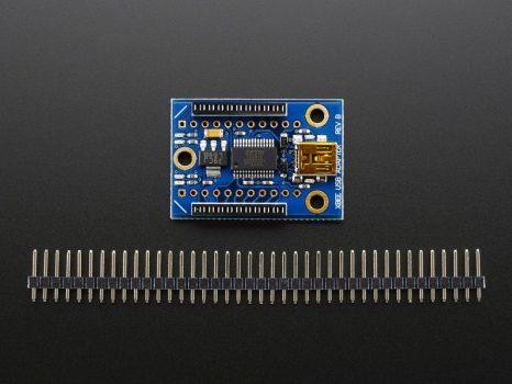 2in1 USB XBee adapter Raspberry PI-hez