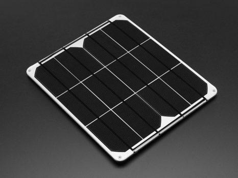 Solar Panel 6V 9Watt - monokristályos 6V 1.5A DC csatlakozóval