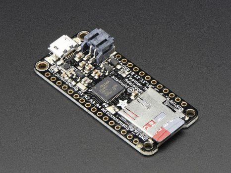 Adafruit Feather M0 Adalogger - ATSAMD21 Cortex M0 - Atmel ARM Cortex M0 mikrokontrollerrel + microSD