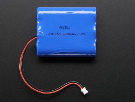 Lithium Ion Akkumulátor csomag - 3.7V 6600mAh