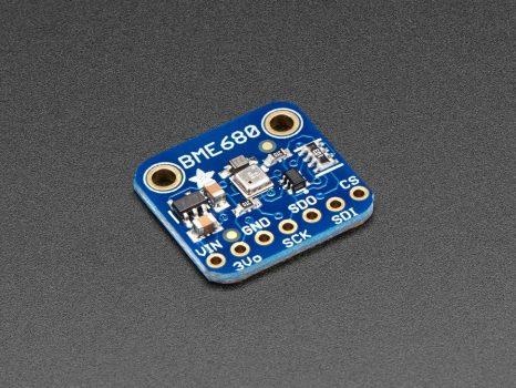 BME680 - Hőmérséklet-, Pára-, Légnyomás-, Gázérzékelő szenzor SPI és I2C interfésszel