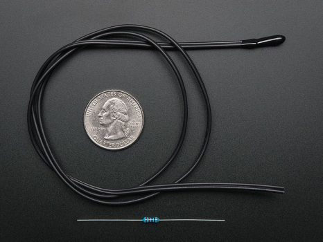 Precíziós Termisztor - 10K Epoxy 3950 NTC
