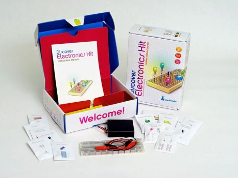 Elektronikai felfedező csomag - v2