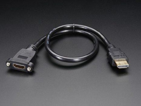 Beépíthető HDMI kábel - 40 cm
