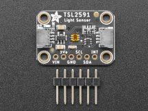 TSL2591 Magas dinamika tartományú digitális fényerő / lux / fényérzékelő szenzor I2C interfésszel - STEMMA QT csatlakozás