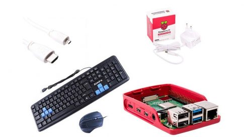 PI4-2GB HomeOffice csomag - Otthoni tanuláshoz