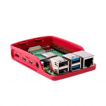 Hivatalos Raspberry PI 4 / 8GB csomag - aktív hűtéssel , 16GB sd,  piros/fehér