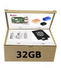 Raspberry ECO-COOL-PACK PI3B+ / 32GB / EU