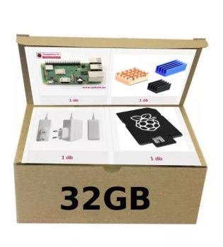 Raspberry ECO-COOL-PACK PI3B+ / 32GB / EU