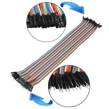 Prémium minőségű ANYA-APA jumper kábel 40x200mm