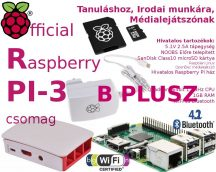 Raspberry PI 3 B PLUSZ- Hivatalos csomag 32GB NOOBS