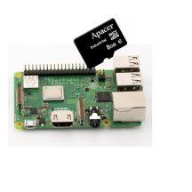 Raspberry PI 3 Model B PLUSZ  - szerver csomag - 8GB Industrial