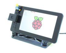 SmartiPi csomag - Raspberry PI 3 / Kamera NOIR 8MP / Tápegység / SmartiPI ház / DSI kijelző