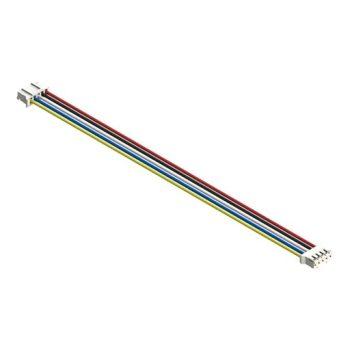 I2C kábel - 5 vezetékes 5 polusú 2mm anya csatlakozóval - IN830 modulhoz - hosszú 15cm