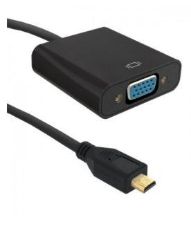 microHDMI-VGA átalakító kábel