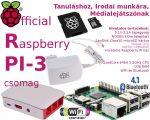 Raspberry PI 3 - Hivatalos csomag 16GB NOOBS