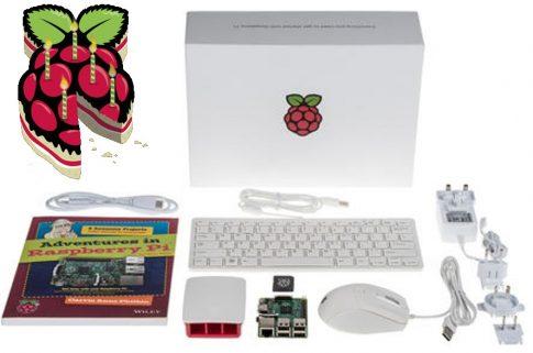 Hivatalos Raspberry PI 3 Starter kit - Jubileumi prémium kiadás