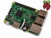 Raspberry Pi 3 Model B 64bit 1.2GHz Quad-Core  beépített Bluetooth4.1 és 802.11 b/g/n WIFI