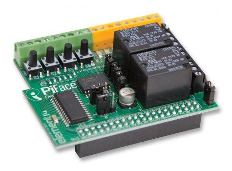 PiFace 2 digitális I/O bővítő modul Raspberry PI-hez