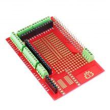 Prototípus NYÁK lemez Raspberry PI Model B+/PI2/PI3-hoz hosszú csatlakozóval