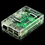Pi Shell ház - átlátszó Raspberry PI Model B+/PI2/PI3