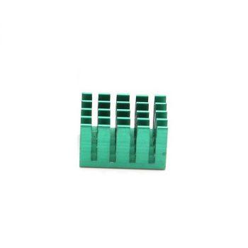 Alumínium hűtőborda  Raspberry PI2 / PI 3-hoz - Extra nagy hűtőfelülettel - Minecraft Edition