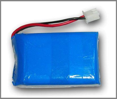 Lithium Ion Polymer Akkumulátor - 3.7v 3000mAh - UPS PICO szünetmentes tápegységhez