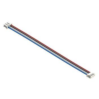 I2C kábel - 4 vezetékes 4 polusú 2mm anya csatlakozóval - I2C modulokhoz - hosszú 30 cm