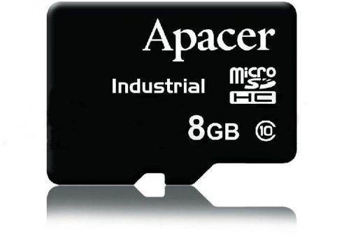 8GB Class10 microSD - Industrial