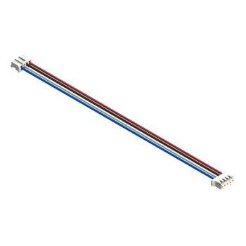 I2C kábel - 4 vezetékes 4 ill. 5 polusú 2mm anya csatlakozóval - IN830 és I2C modulokhoz 15 cm hosszú