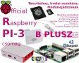 Raspberry PI 3 B PLUSZ- Hivatalos csomag 16GB NOOBS