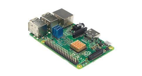 Raspberry Pi 3 Model B 64bit 1.2GHz Quad-Core + Extra hűtőborda készlet