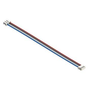 I2C kábel - 4 vezetékes 4 polusú 2mm anya csatlakozóval - I2C modulokhoz - hosszú 15 cm