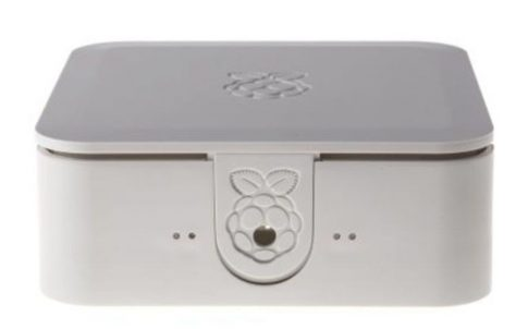 Quattro Case 120 x 120 x 55mm Fehér Ház Raspberry Pi 2, Pi 3, Pi 3B+-hoz