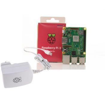 Raspberry PI 3 Model B+ és  Hivatalos 5.1V 2.5A tápegység