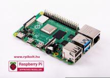 Raspberry PI 4 / 1GB | hivatalos 5.1V 3A  USB-C táp | microHDMI adapter