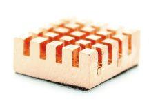 Réz hűtőborda Raspberry PI-hez