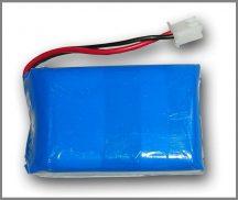 Lithium Ion Polymer Akkumulátor - 3.7v 4000mAh - UPS PICO szünetmentes tápegységhez
