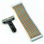 T alakú GPIO próbapanel csatlakozó Raspberry PI -hez 40 tüskés