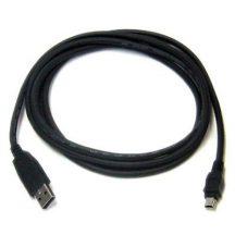 USB-microUSB tápegység kábel 0.6m