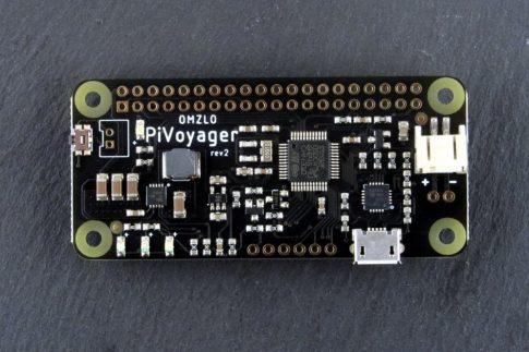 PIVOYAGER  - intelligens szünetmentes táp modul ( UPS ) RASPBERRY PI-hez, beépített watchdog és naptár funkcióval